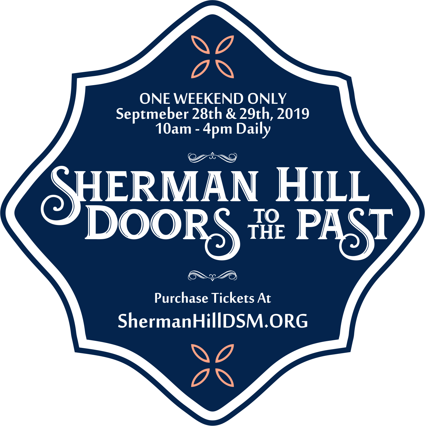 "2019 Sherman Hill ""Doors To The Past"" Walking Tour Of"